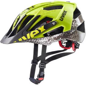 UVEX Quatro - Casque de vélo - jaune/noir